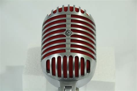 Shure 5575le Limited Edition 75th Anniversary Microphone shure unidyne 5575le 75th anniversary vocal microphone