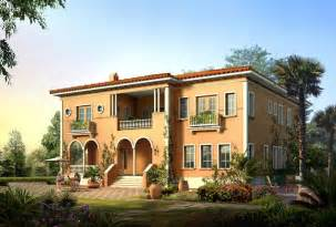 villa style homes new home designs latest italian villas designs