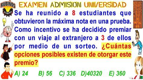 examen de admision a la universidad publicaciones anuies examen villareal admisi 243 n a la universidad unfv an 225 lisis