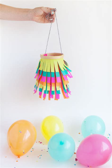 Tissue Paper Lantern Craft - tissue paper lantern tell and partytell and