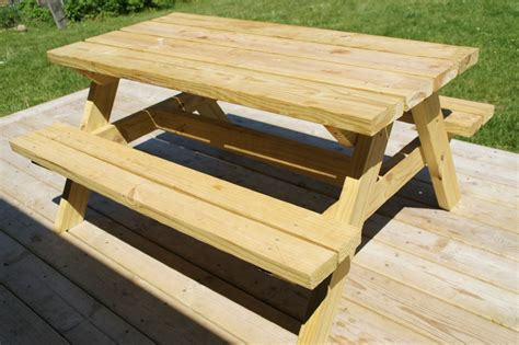 outdoor picnic table design  woodworking