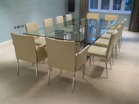 12 seater dining table 12 seater glass dining table futureglass