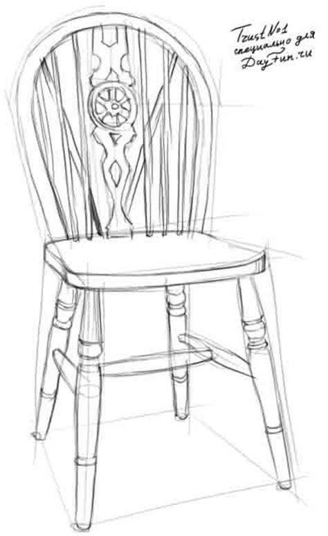 How To Draw A Chair Step By Step by How To Draw A Chair Step By Step Arcmel