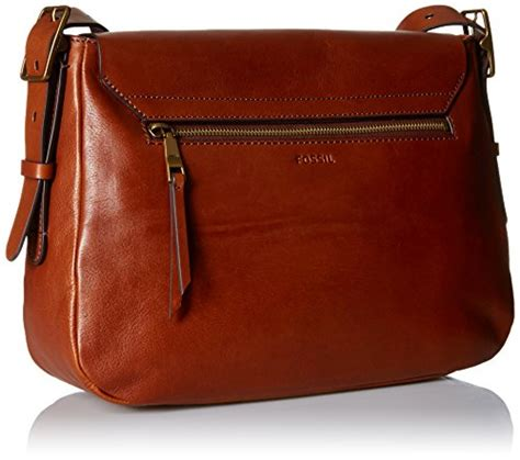 Fossil Large Crossbody Blue Brown fossil large crossbody brown one size buy in uae accessory products in the