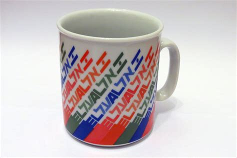 El S Coffee el al coffee mug 1980 s period collectors weekly