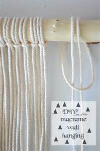 Diy Macrame Wall Hanging - diy easy wall hanging macrame find a way by jwp