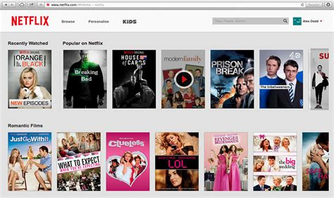 design shows on netflix netflix gets facelift