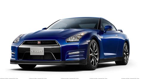 blue nissan front side pose of 2012 nissan gt r in blue wallpaper