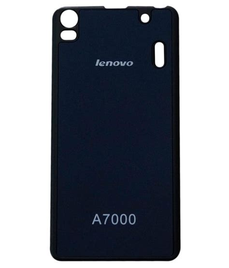 cover tutup belakang lenovo a7000 ksc back cover for lenovo a7000 k3 note blue plain