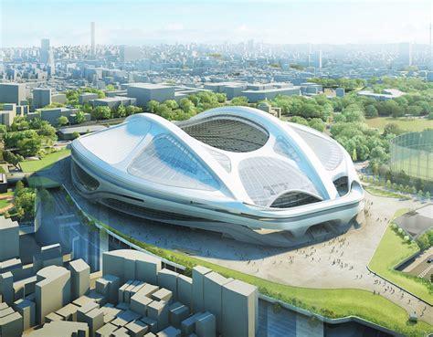 designboom zaha hadid japan japan scraps zaha hadid s 2 1 billion 2020 tokyo olympic