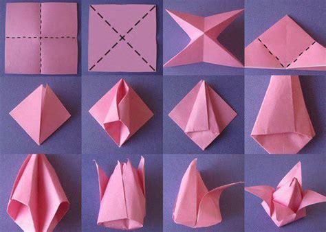 membuat bunga pakai kertas origami 8 ide menghias kamar pakai kertas origami tinggal potong