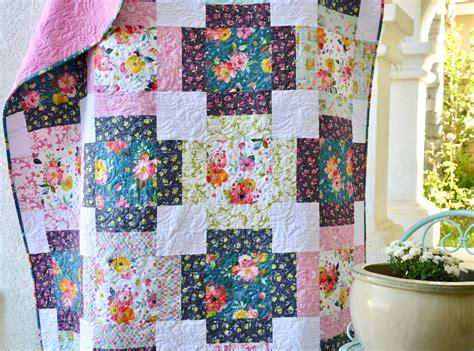 large pattern quilt patterns for large floral prints cafca info for