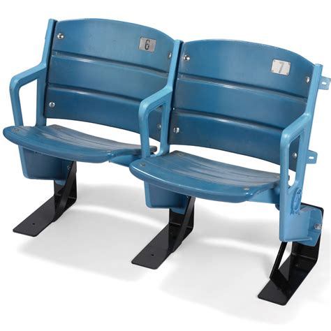 seats from yankee stadium the authentic yankee stadium seats hammacher schlemmer