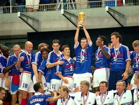 equipe de 1998 mondial coupe du monde des