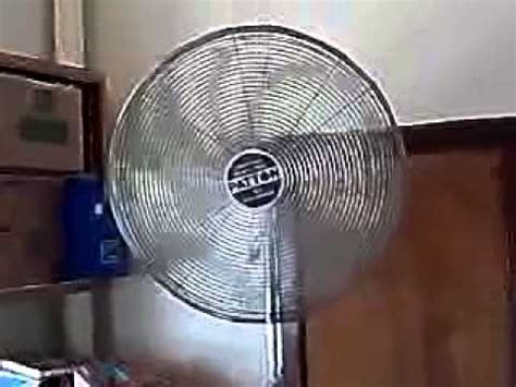 patton industrial fans parts 1991 patton industrial 30 quot pedestal fan youtube