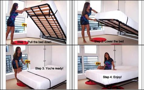flip up bed king size wall bed murphy bed lift bed flip up bed in