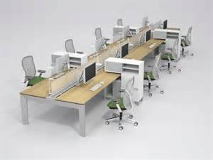 Benching Workstations Office Furniture Trends