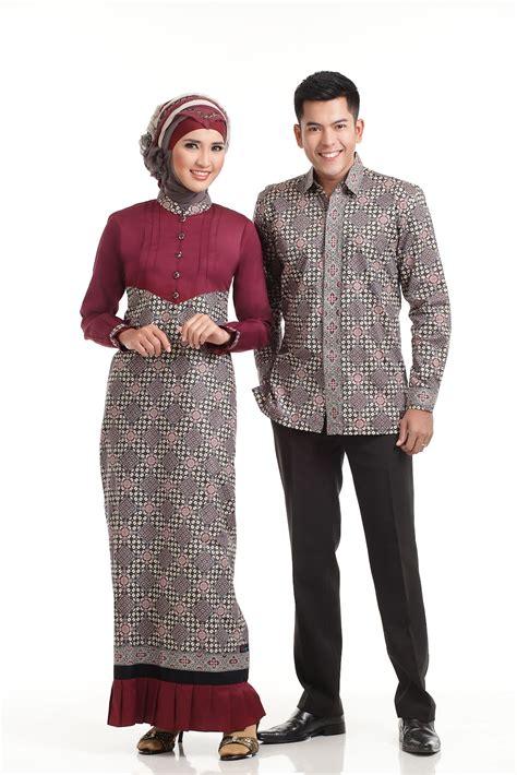 contoh model gamis batik terbaru baju muslim