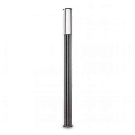 Backyard Light Pole Modern L In Gray With Energy Saving Light Bulb 55w