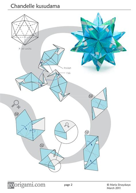 Modular Origami Tutorial - 25 best ideas about modular origami on