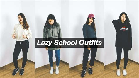 lazy simple school outfit ideas faithincuteness youtube