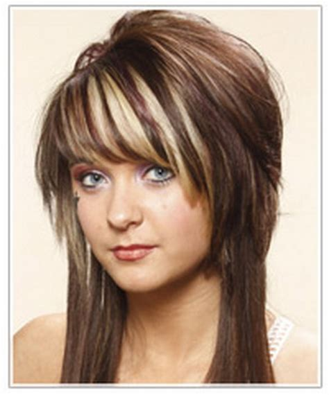 medium length hairstyles with height at crown short haircuts with long layers on top