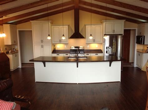 raised kitchen island raised panel kitchen cabinets kitchen traditional with