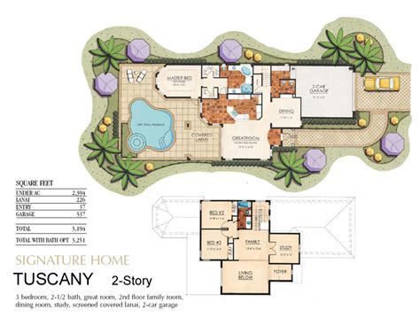 tuscan home plans with casitas numberedtype luxamcc