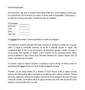 9 parent letter templates free sle exle format