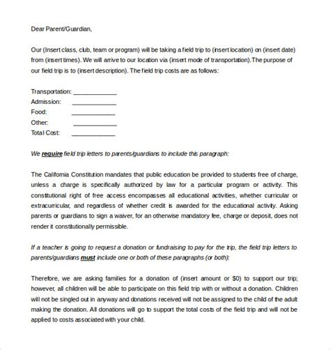 8 Parent Letter Templates Free Sle Exle Format Download Free Premium Templates Parent Letter Template