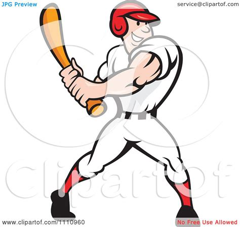 baseball player swinging bat clip art clipart happy baseball player swinging a bat royalty