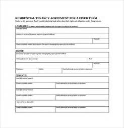 term tenancy agreement template sle residential rental agreement 12 exles format