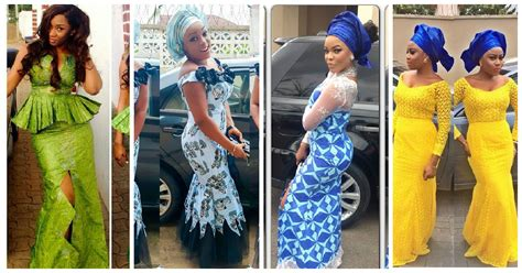 latest style in nigerian ovation search results for styles with ankara for wedding