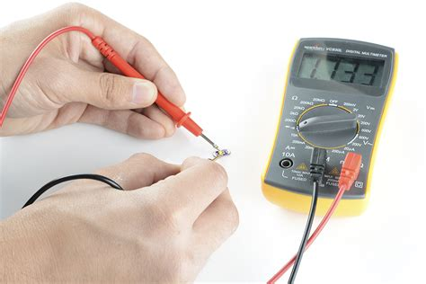 multimeter diode test polarity learn sparkfun