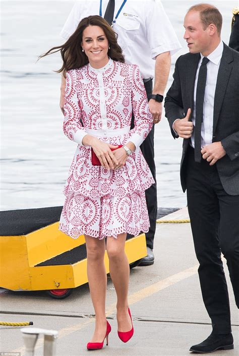 Recent Wardrobe by Kate Middleton Duchess Of Cambridge S Canada Wardrobe Is Most Expensive Daily Mail