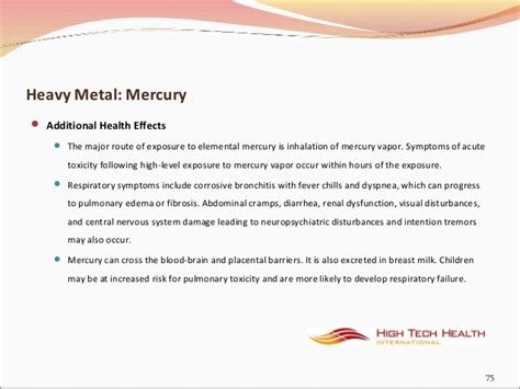 Mercury Detox Symptoms Rash by Toxicity And Detoxification With Far Infrared