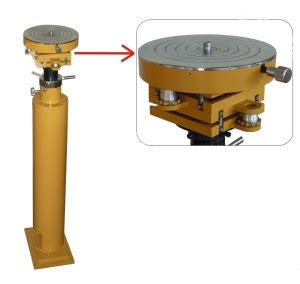 micro tilting table column ls,collimator for total station