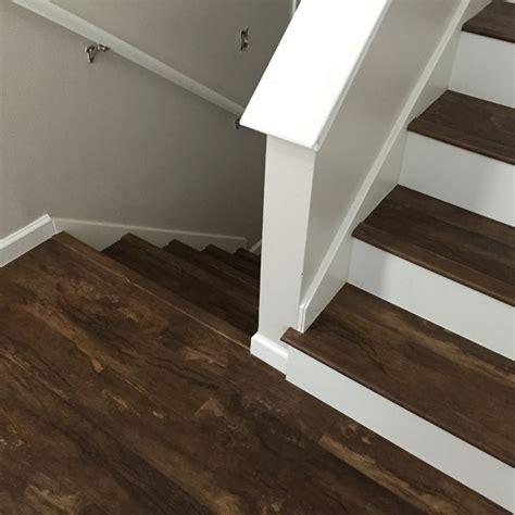 luxury vinyl plank on stairs luxury vinyl plank vinyl tile pinterest vinyls plank and on