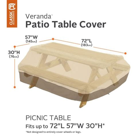 Outdoor Furniture Covers Made To Measure Veranda Picnic Table Covers