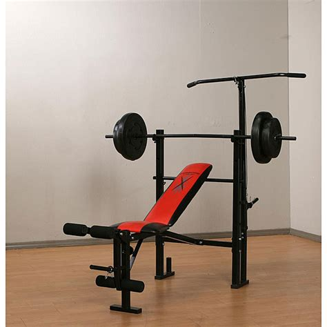 weight bench with weight set marcy weight bench with 80 pound vinyl weight set