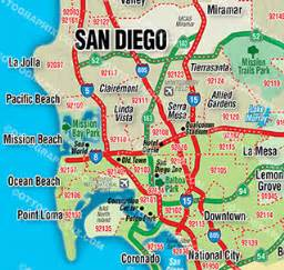 downtown san diego zip code map missouri map