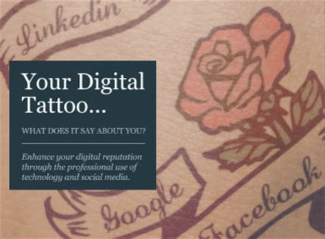 your digital tattoo what the web says about you for