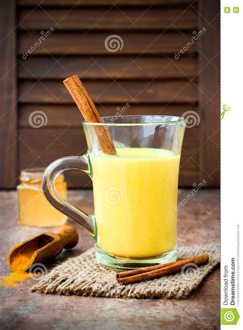 Turmeric And Liver Detox by Turmeric Golden Milk Latte With Cinnamon Sticks And Honey