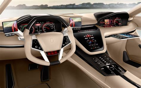 car interiors wallpaper 2560x1600 car interiors giugiaro