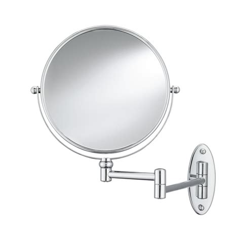 shop conair mirrors metallic metal and glass wall mounted