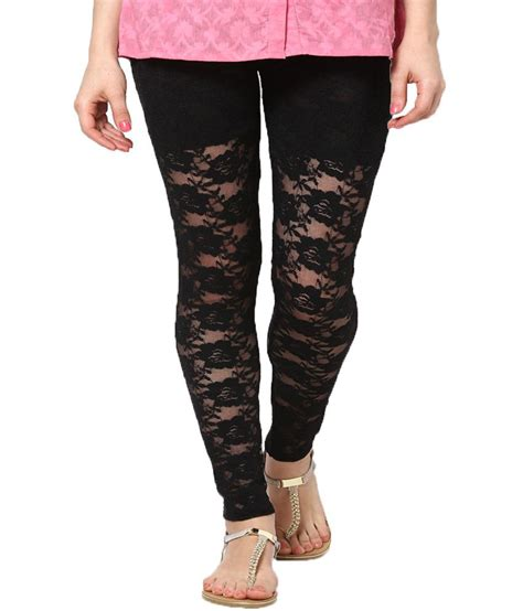 Net Legging by Castle Lifestyle Black Net Price In India Buy