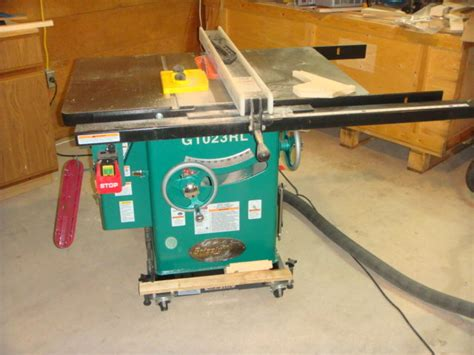 review grizzly 1023rl table saw by pie lumberjocks