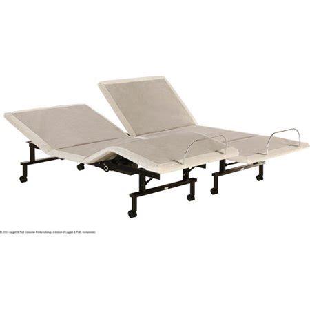 shipshape adjustable bed frame split king walmart