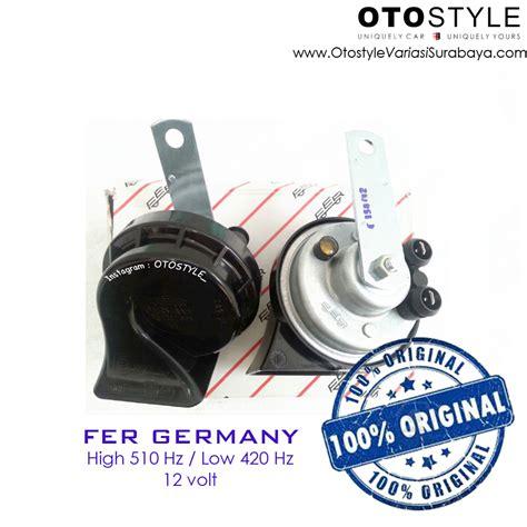 Jual Klakson Fer Horn Germany Oem Bmw Tdi013 jual klakson mobil horn fer original made in germany otostyle