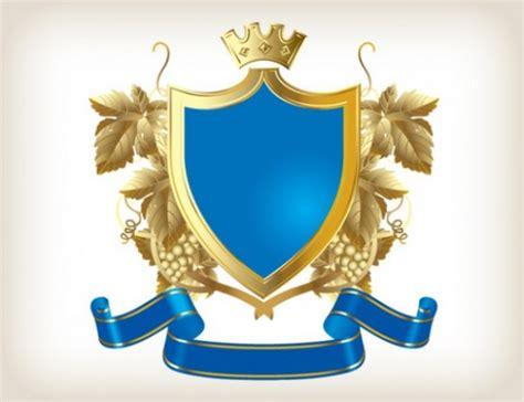 Home Design 3d Gold Help royal shield ribbon design vector vector free download